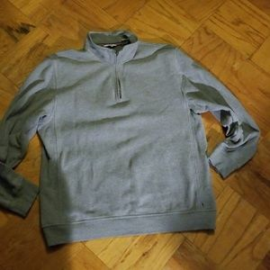 Izod Gray Pull over Sweatshirt